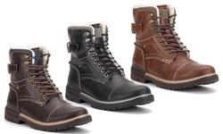 Reserved Footwear Men's Cavalier Fur-Lined Boot