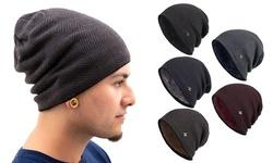Men Women Knit Slouchy Baggy Beanie Oversize Winter Hat Ski Fleece Warm Cap