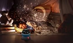 iMounTEK Kids LED Night Light Star Moon Projection Lamp