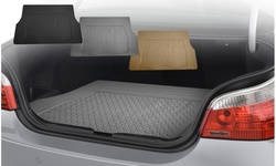 Premium Vinyl Trimmable Cargo Mat and Trunk Liner F16401-G