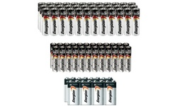 68-Pack: Bundle Of Energizer Batteries AA, AAA and 9V
