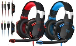Kotion Each Over-the-Ear Gaming Headset with Noise Cancelling Mic