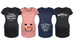 Bloom Maternity: Little Present On The Way Maternity Tees