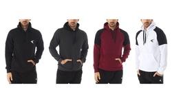 TKO Men's Fleece-Lined Pullover Hoodie Sweatshirt