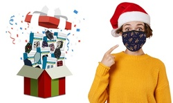 Adults or Kids Two-Layered Reusable Face Mask Mystery Deal (8-Pack)
