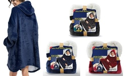 Comfortable Blanket Sweatshirt Hoodie Hooded Robe Sweatshirt for Women and Men