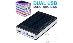 900000mAh Dual USB Portable Power Bank External Battery Backup Charger
