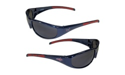 NHL 3 Dot Wrap Sunglasses