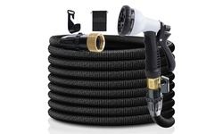 Expandable Garden Watering Hoses with Spray Nozzle (25' 50' 75', 100')