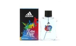 Adidas Team Five Men- EDT Spray 3.4 Oz