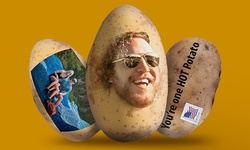 Custom Face Delivered on a Potato from Anonymous Potato (60% Off)