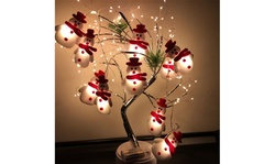 LED Christmas Snowman Strings Christmas Tree Holiday Party Decoration Lantern