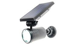 8 LED Solar Powered Motion Security Sensing Spotlight Outdoor IP66 Waterproof