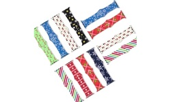 Holiday Print Silicone Apple Watch Bands Series 1, 2, 3, 4, 5, 6, & SE
