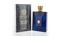 Dylan Blue By Versace 6.7 Oz Eau De Toilette Spray New In Box For Men