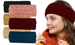 Winter Knitted Snug and Comfy Head Wrap Headband and Ear Warmer