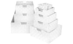 Sorbus Woven  Storage Basket Sets