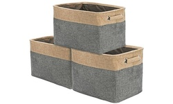 Sorbus Storage Large Basket Set 3-Pack