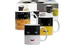 Magic Color Changing & Self Stirring Coffe Mugs - 8 & 12 oz VARIATION