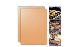 (2 Pack) Copper Chef Grill Mats