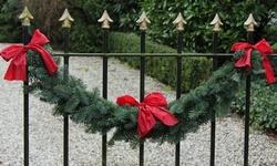 Live Fresh Cut Blue Ridge Mountain  Christmas Garland
