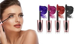 Dramatic 4D Silk Fiber Colored Voluminous Eyelash Mascara