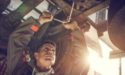 Front or Rear or Front and Rear Brake-Pad Replacement at Kwik Kar (Up to 50% Off)