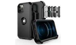 For iPhone 12 12 Mini 12 Pro Max Shockproof Defender Case Cover with Belt Clip