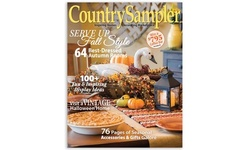 One-Year Subscription to Country Sampler Magazine (54% Off)