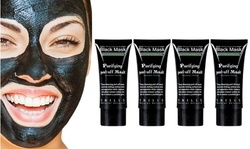 Charcoal Deep Cleansing  Purifying Peel-Off Facial Masks (4- Pack)
