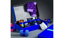 Mio Marino 6-Pack Bold Designer Dress Socks in Gift Box