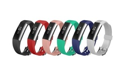 6-Pack of Silicone Bands for Fitbit Charge 3, Fitbit Versa, and Fitbit Alta