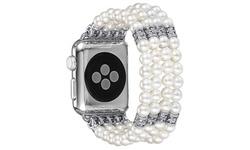 Posh Tech Pearl Bracelet Fashion Band for Apple Watch Series 1, 2, 3 & 4