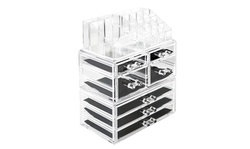 Makeup Organizer Cosmetic Storage Drawers and Jewelry Display Box