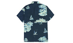 LeeHanTon Men's Vibrant Hawaiian Button Down Shirt (Extended Size Available)