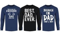 Men's Dad Themed Long Sleeve Shirts