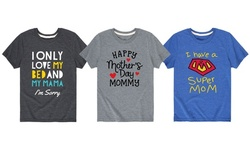 I Love My Mom Toddler Tees