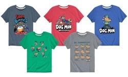 Kids Licensed Dog Man Graphic Tees
