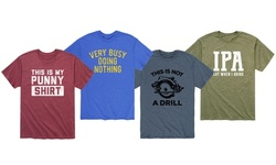 Instant Message: Men's Punny T-Shirts