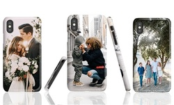 Custom Cases for iPhone: XS, XS Max, XS, XR, X, 8, 8+, 7, or 7+; or Galaxy S9 or S9+ (Up to 69% Off)