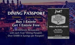 One or Two Dining Passports from J'eat (Up to 70% Off)