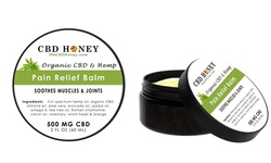 All Natural Advanced Pain Relief Balm Infused with CBD