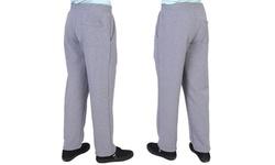 Maxxsel Oscar Sports Men's Straight Bottom Fleece Sweatpants (S-5XL)