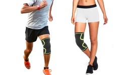 Knee Compression Sleeve Support with Gel Grip
