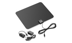 Amplified HDTV Antenna with 50-, 60-, or 65-Mile Range