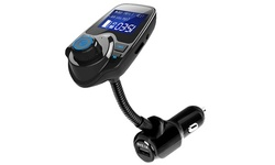 iMounTEK Bluetooth Car FM Transmitter Hands-free Calling and Rapid USB Charge