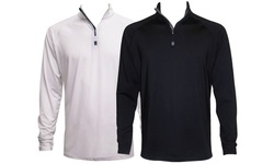 Victory Men's Lightweight Active 1/4-Zip Stretch Pullover (2 PACK)