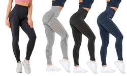 Women Sexy Printed Yoga Pants Sport Gym High Waist Seamless Leggings Trouser
