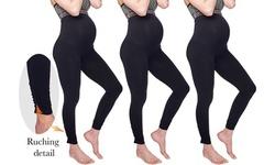 Under Control Women's 3 Pack Maternity Leggings