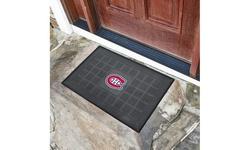 """NHL 19"""" x 30"""" Vinyl Door Mat"""